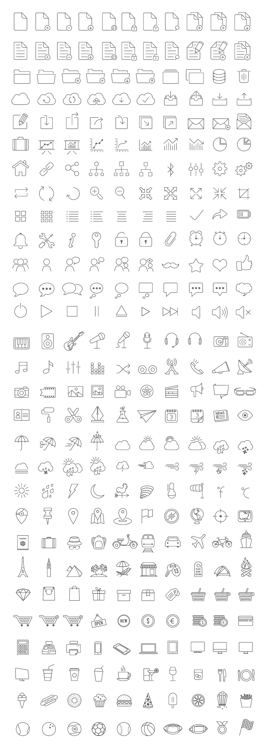 tonicons-outline-icons
